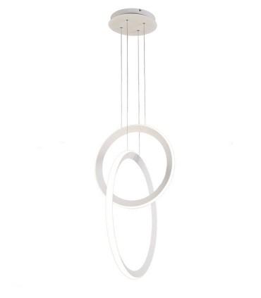 Lámpara colgante KITESURF LED 48W Blanco 7191 Mantra