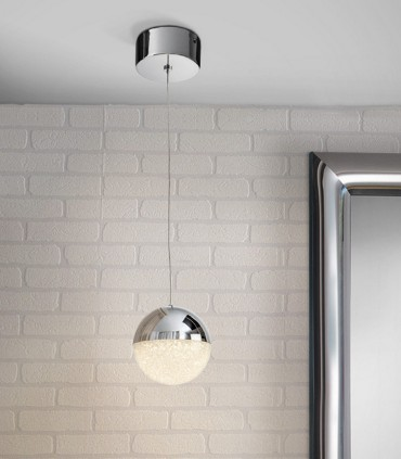 Lámpara 1 luz LED SPHERE 12cm - Schuller 793301