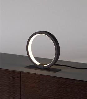 Lámpara de mesa KITESURF LED 8W Negro 7145 Mantra