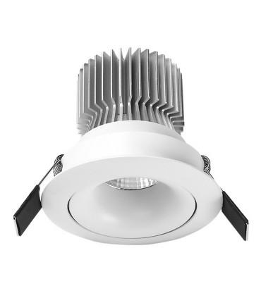 Foco Empotrable FORMENTERA  LED 7W Blanco Basculante Mantra