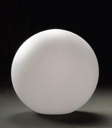 Lámpara Bola Exterior Blanca Avoriaz IP65 ø40cm E27 1391 Mantra