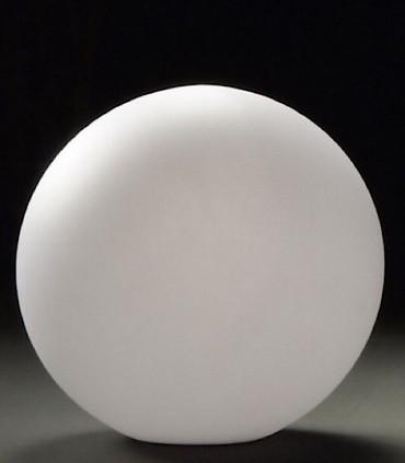 Lámpara Bola Grande Exterior Blanca Avoriaz IP65 ø50cm E27 1394 Mantra