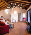 Iluminación de techo de madera con lámpara Bocadella 12 Luces Negro 98347