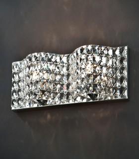 Aplique 2 luces ONDA - Schuller