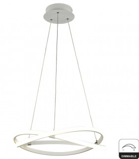 Lámpara de techo INFINITY Blanco Led 42W DIMMABLE 2800K 5990 Mantra