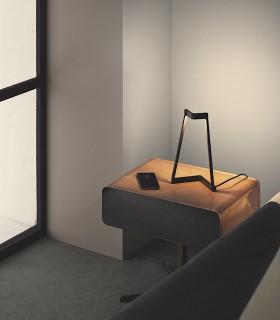 Imagen de ambiente Lámpara de mesa Minimal Negro 7281 Mantra