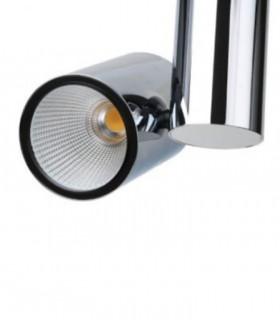 Foco de carril Trifásico cromo 20W PRO CRI97 YLD para iluminación técnica