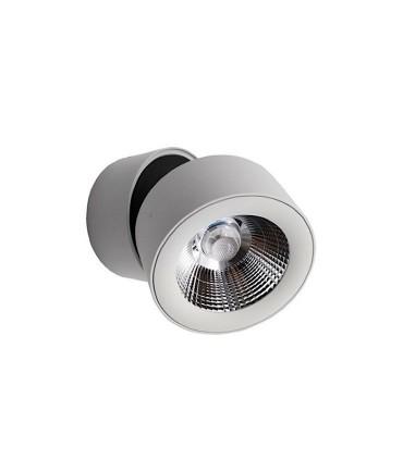 Foco superficie orientable 360º R Led 10W Blanco-Cromo YLD LC1298