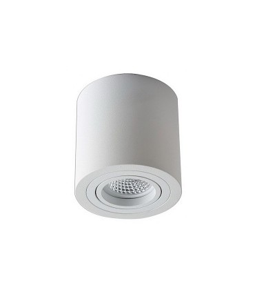 Foco de superficie CIL Orientable led Ø90mm BLANCO