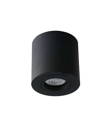 Foco de superficie CIL Orientable led Ø90mm NEGRO
