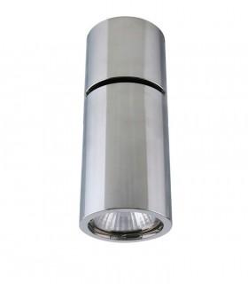 Foco Superficie Articulado Bombilla GU10 Redondo cromo YLD NC1800