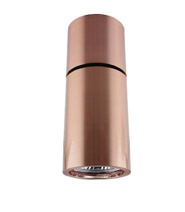 Foco Superficie Articulado Bombilla GU10 Redondo cobre YLD NC1800